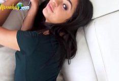 Esperanza Gomez dando a boceta carnuda