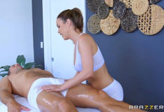 Brazzers – Dillion Harper is oiled up and ready to fuck