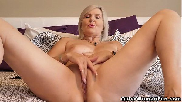 Hot and very horny blonde masturbating horny