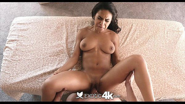 Beautiful and naughty black woman having very hot sex with boyfriend