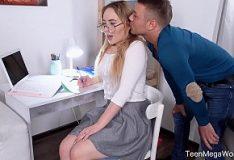 Very beautiful Asian having sex with boyfriend